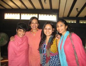 with Mallika Sarabhai
