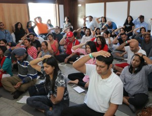 Workshop in Kasauli – 65 registrations for Sound & Chakra Healing !!
